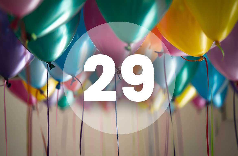 Proslavili smo 29. rođendan!